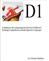 """Cuaderno de comprensión lectora """"gulliver"""" D1"""